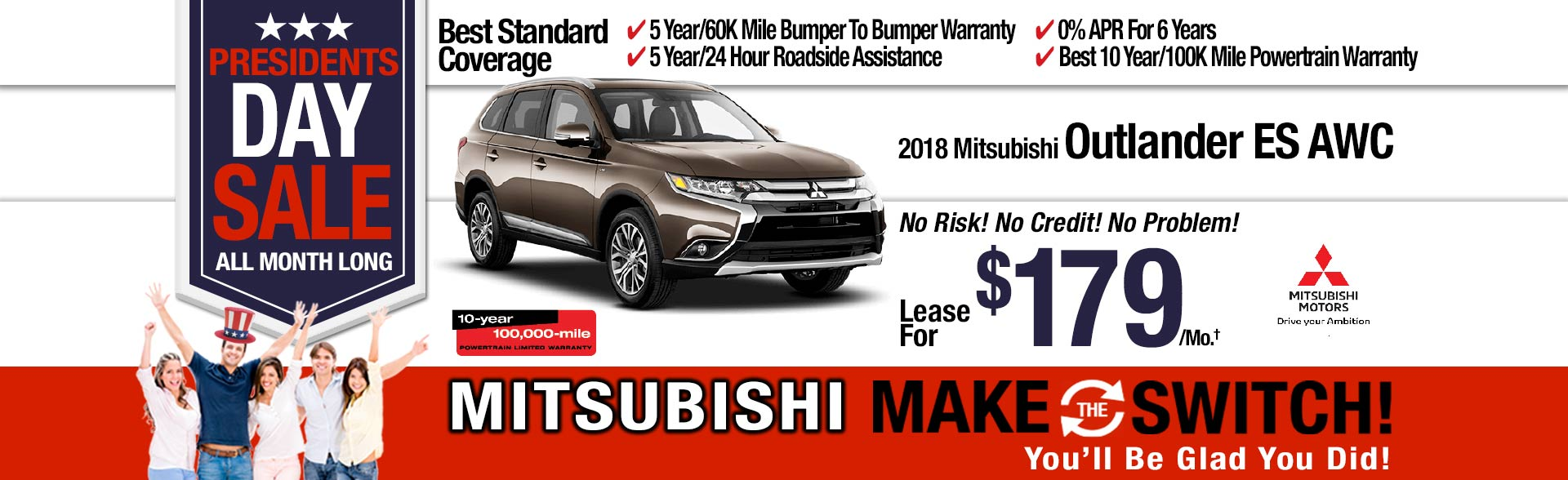 New Mitsubishi Outlander ES AWC Special at Michaud Mitsubishi
