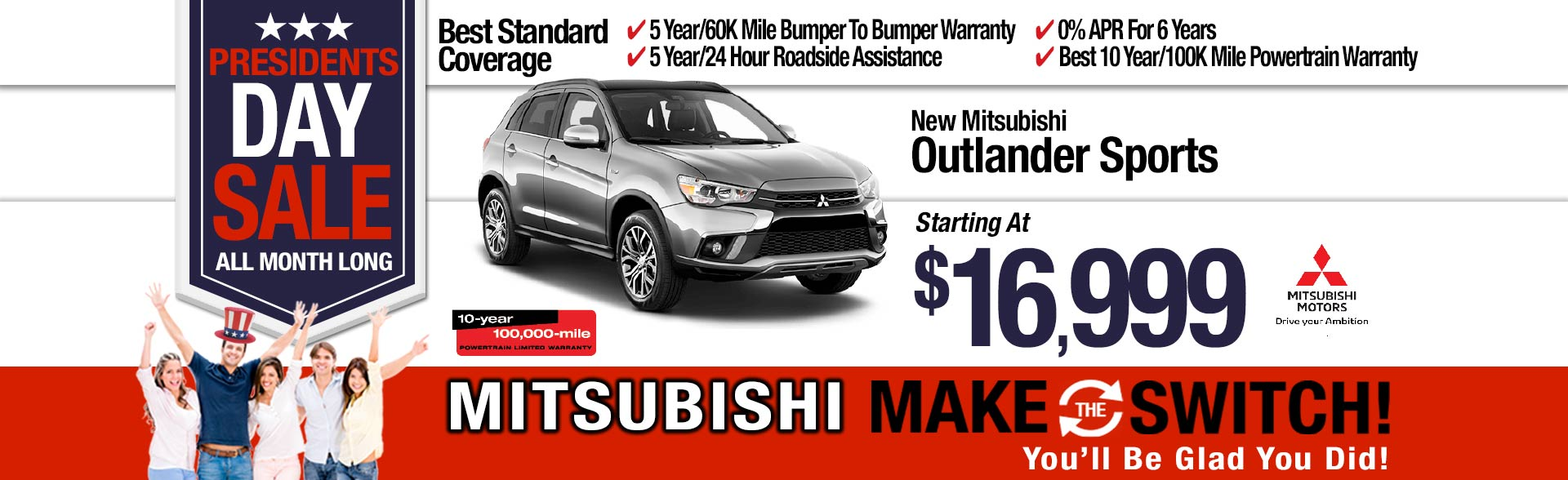 New Mitsubishi Outlander Sport ES AWC Special at Michaud Mitsubishi