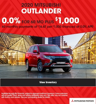 2020 MITSUBISHI OUTLANDER - 0% APR