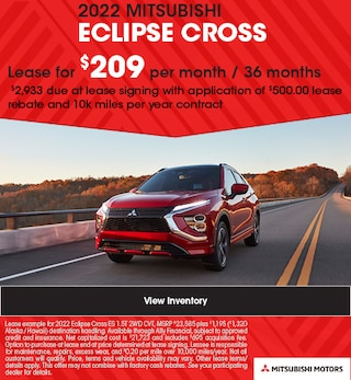 2022 MITSUBISHI ECLIPSE CROSS - $209 Lease