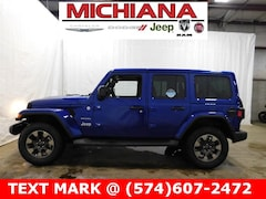New 2018 Jeep Wrangler UNLIMITED SAHARA 4X4 Sport Utility in Mishawaka
