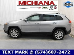Used 2015 Jeep Cherokee Limited 4x4 SUV in Mishawaka
