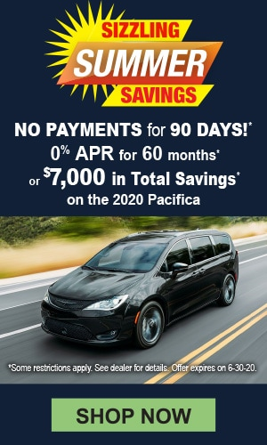 2020 Pacifica Offer