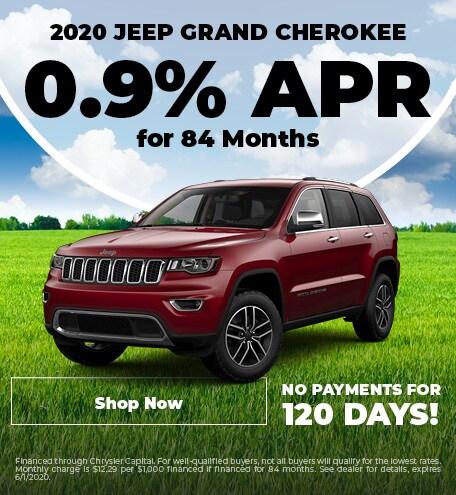 2020 Grand Cherokee APR