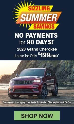 2020 Grand Cherokee Offer