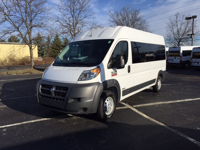 2016 Ram ProMaster 2500 Window Van Auto ability rear entry van conversion Wagon