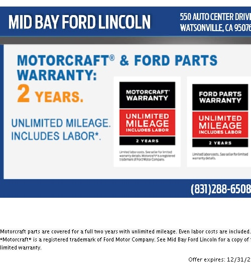 Mid Bay Ford >> Ford Service Specials Mid Bay Ford Lincoln