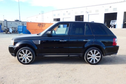 2008 Land Rover Range Rover Sport Supercharged w/Heated leather, S/R, NAV, rear scrn SUV