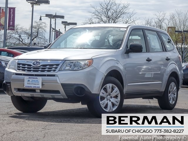 Used 2011 Subaru Forester 2.5X SUV JF2SHAAC1BH713849 In Chicago
