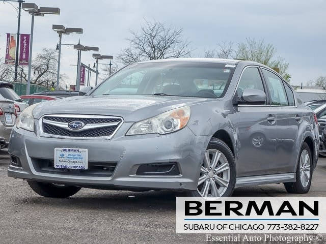 Used 2011 Subaru Legacy 2.5i Premium Sedan 4S3BMCC66B3210750 In Chicago