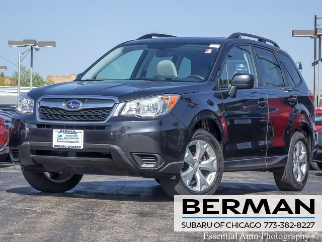 Used 2014 Subaru Forester 2.5i Premium SUV JF2SJAEC2EH544959 In Chicago