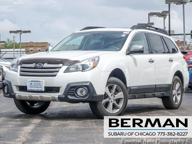 Used 2014 Subaru Outback 3.6R Limited SUV 4S4BRDPC8E2217406 In Chicago
