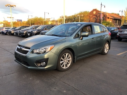 Featured Used 2014 Subaru Impreza 2.0i Premium Sedan JF1GPAC61E8291722 for Sale in Chicago, IL
