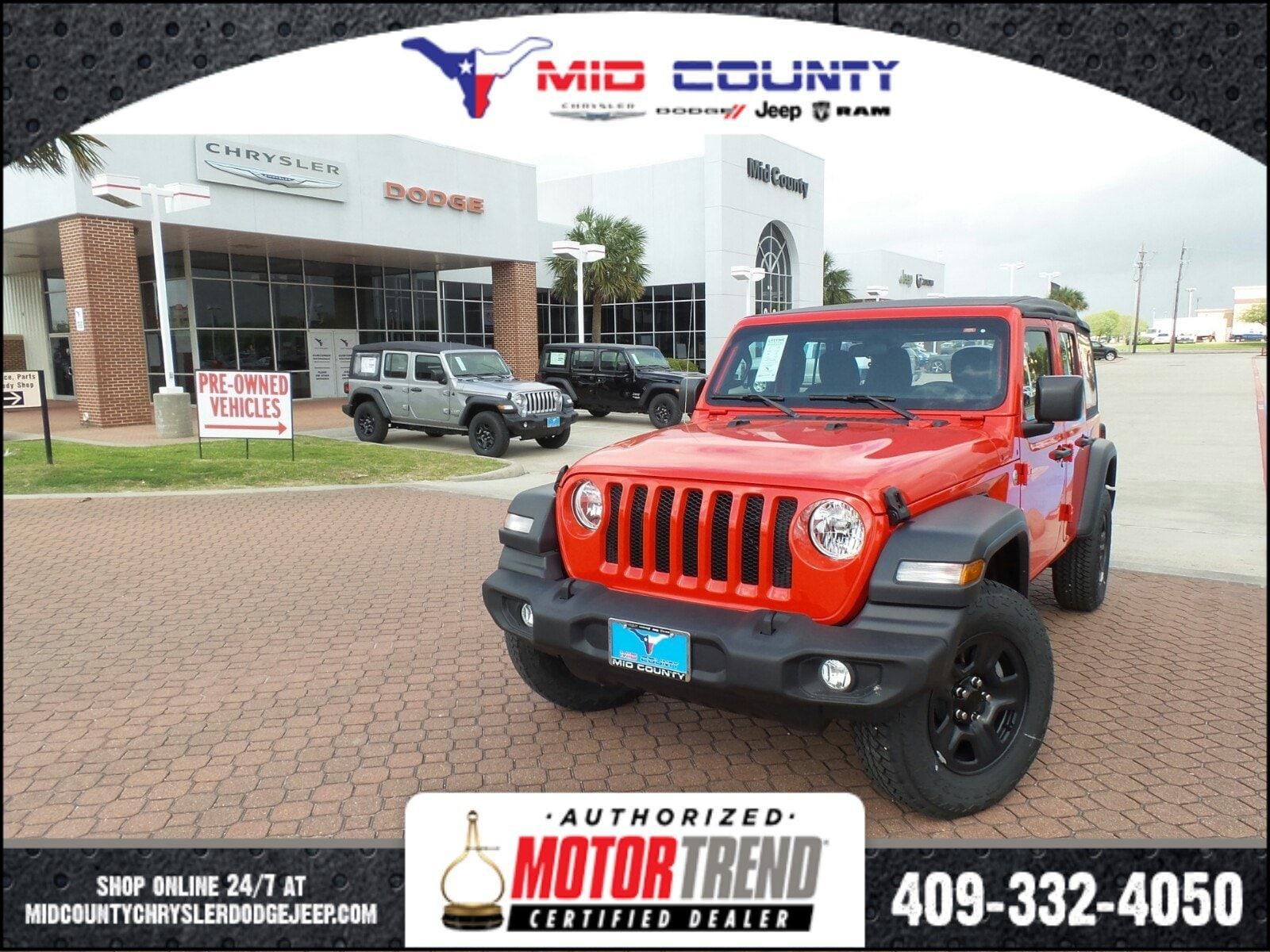 2018 Jeep Wrangler Unlimited Sport Sport Utility Port Arthur, TX