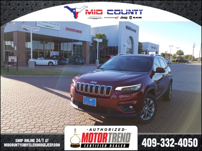 New 2019 Jeep Cherokee Latitude Plus Sport Utility in Port Arthur