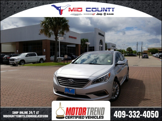Used 2015 Hyundai Sonata Limited Sedan in Port Arthur