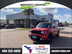 New 2020 Jeep Renegade ALTITUDE FWD Sport Utility Port Arthur, TX
