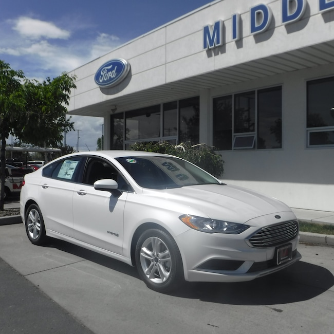 New 2018 Ford Fusion Hybrid SE Sedan For Sale in Twin Falls, ID
