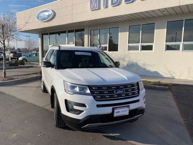 Certified 2016 Ford Explorer XLT SUV For Sale in Twin Falls, ID