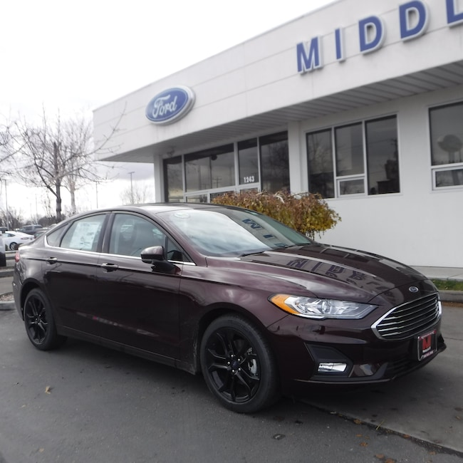 New 2019 Ford Fusion SE Sedan For Sale in Twin Falls, ID