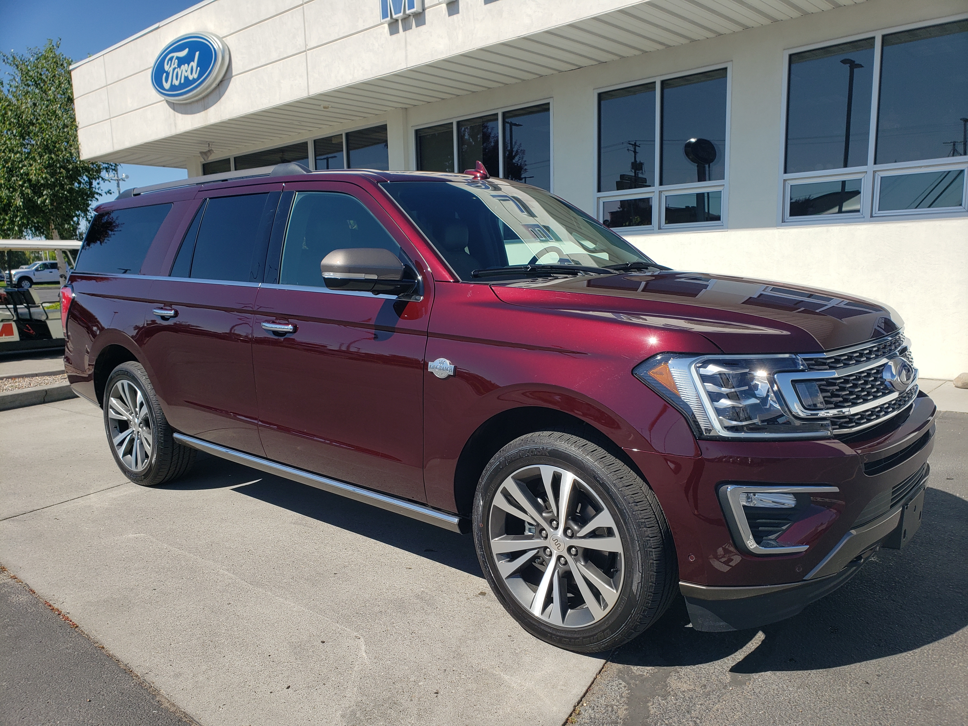 New 2020 Ford Expedition Max King Ranch Suv