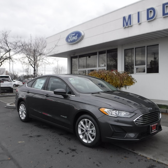 New 2019 Ford Fusion Hybrid SE Sedan For Sale in Twin Falls, ID
