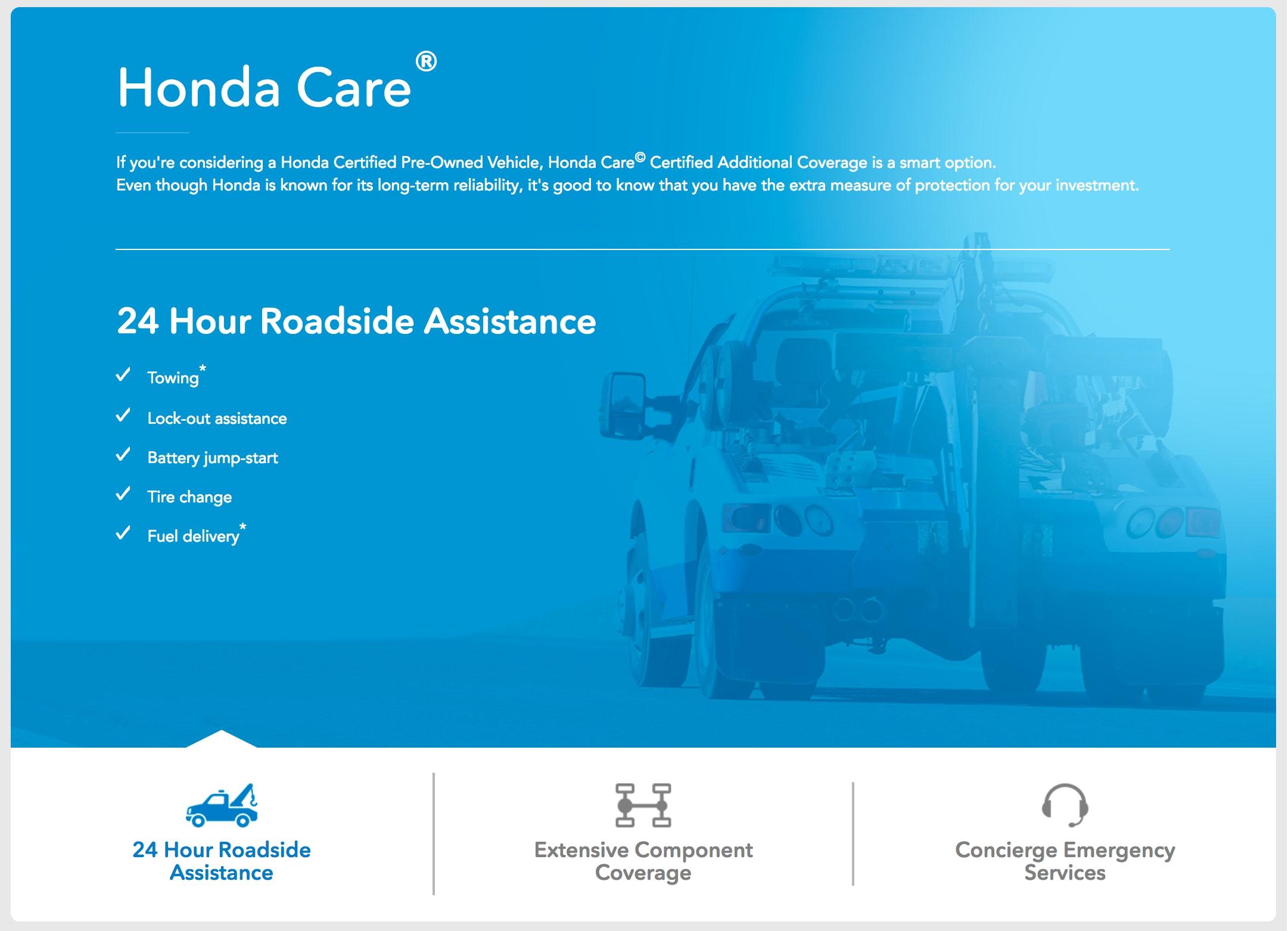 Honda Care.