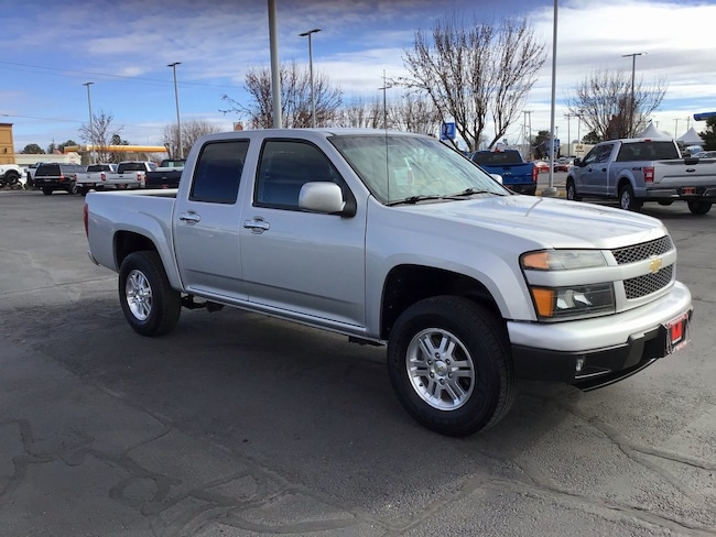 2012 Chevrolet Colorado 1LT Crew Cab Short Bed Truck