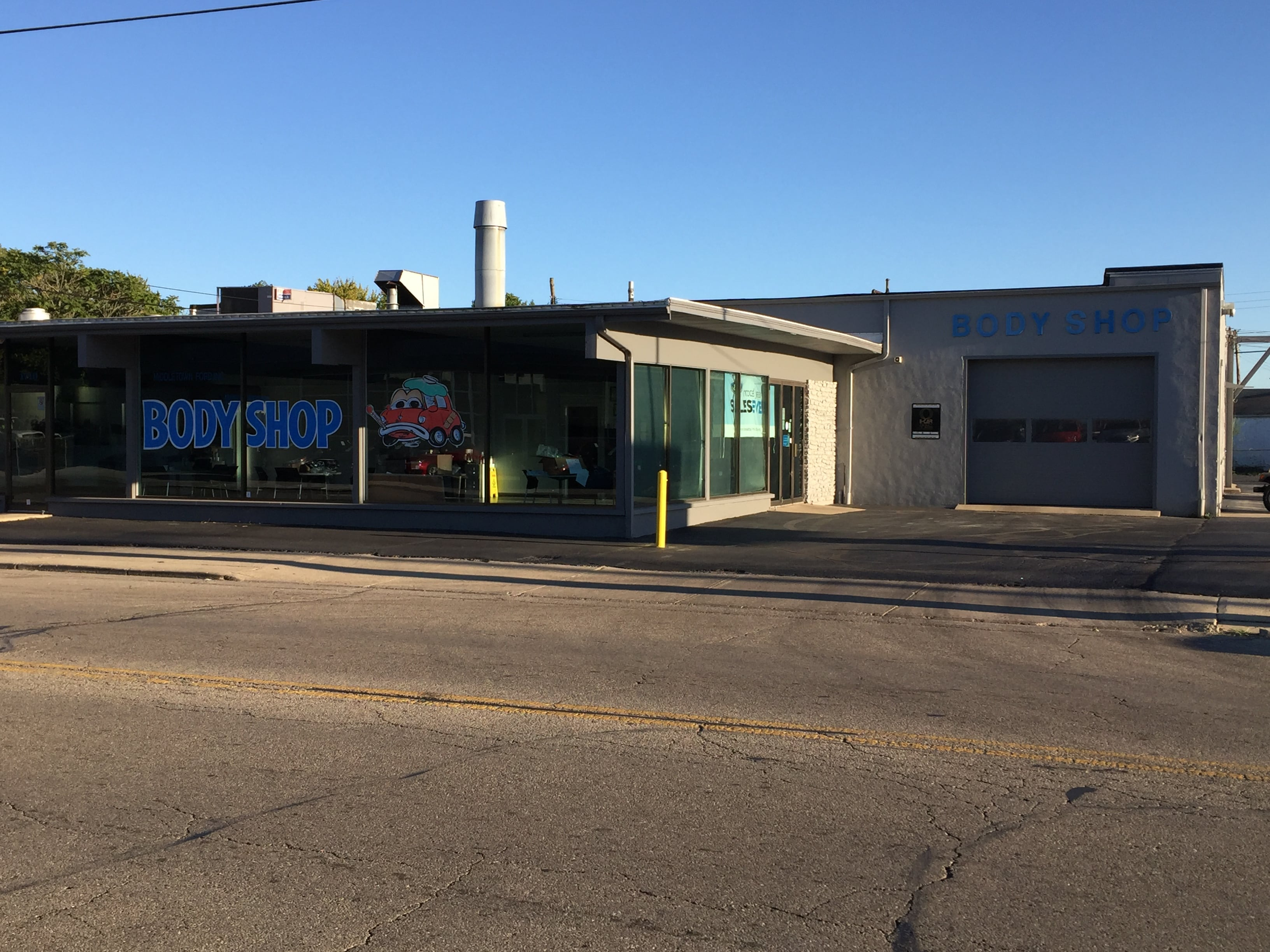 Middletown Ford Body Shop for Collision Repair
