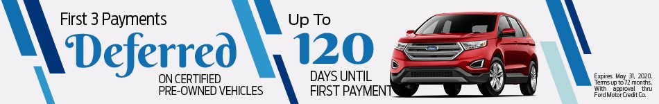 First 3 Payments Deferred - CPO