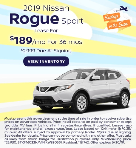 June 2019 Rouge Lease