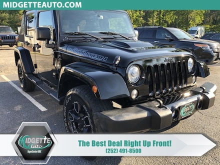 2017 Jeep Wrangler JK Unlimited Unlimited Sahara SUV