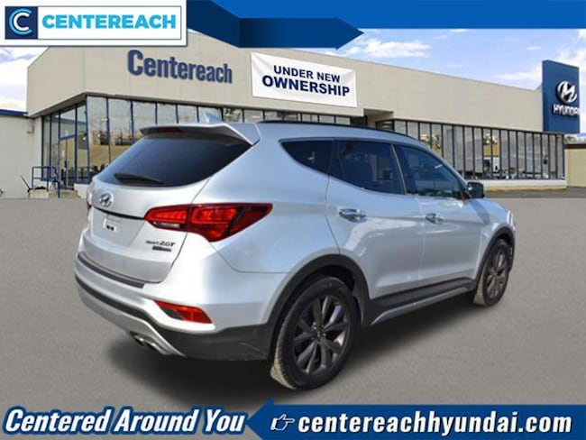 used 2018 hyundai santa fe sport for sale at centereach. Black Bedroom Furniture Sets. Home Design Ideas