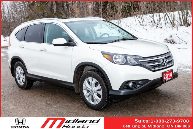 2014 Honda CR-V Touring One Owner with Navigation SUV