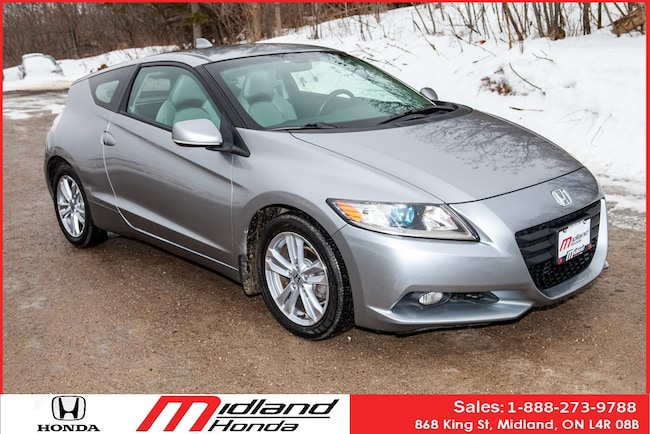 2011 Honda CR-Z Hybrid Reminds me of my first CR-X demo Coupe