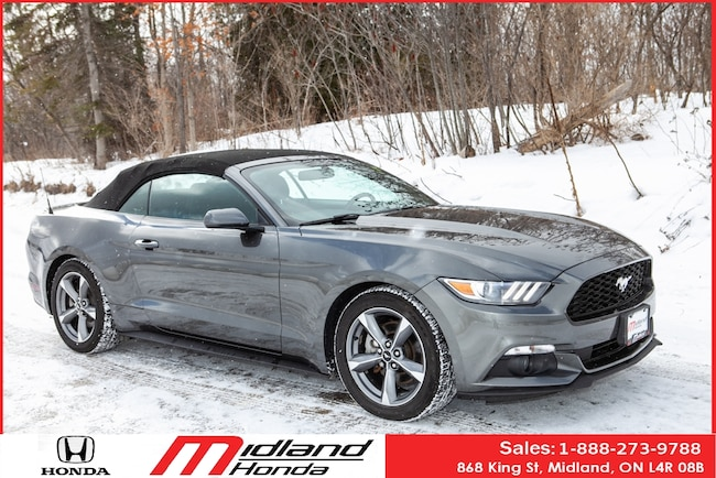 2015 Ford Mustang One Owner Convertible