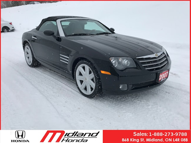 2007 Chrysler Crossfire Limited Only 28, 000KM 1 of 1905 Made Convertible