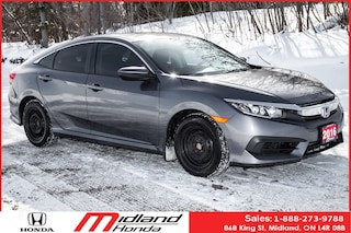 2016 Honda Civic LX Honda COMPREHENSIVE  Warranty to 200, 000KM Sedan