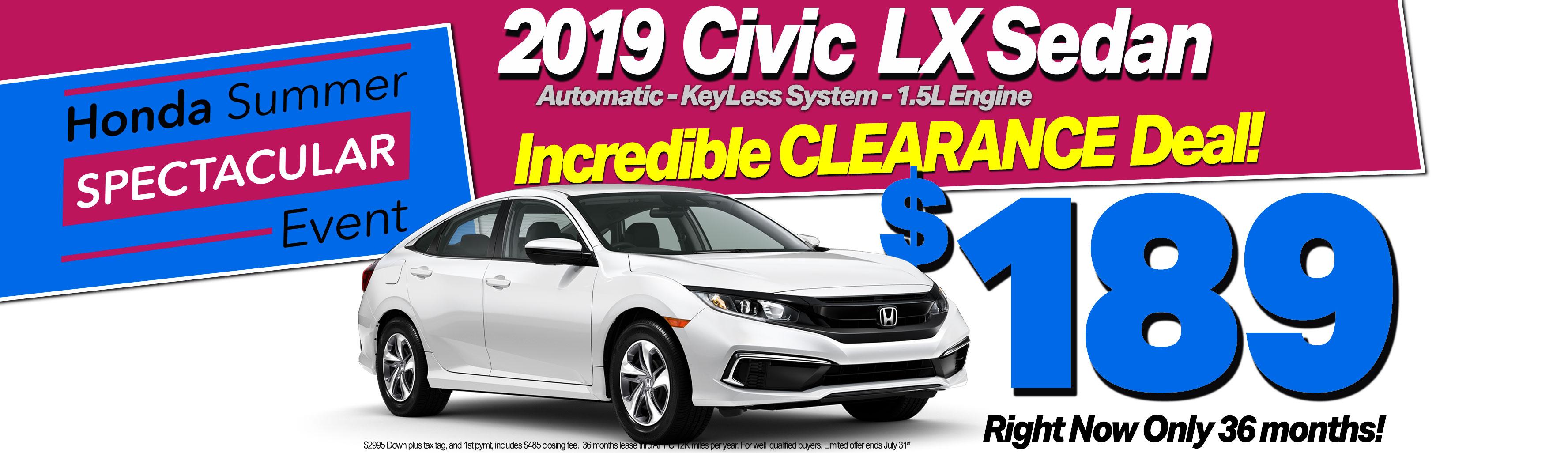 Car Clearance Deals 2016 >> Midlands Honda Honda Dealership Columbia Sc Near Lexington
