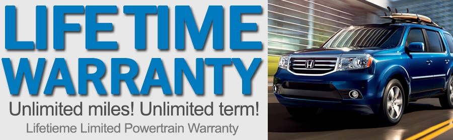 Lifetime Warranty From Midlands Honda Cars In Columbia SC
