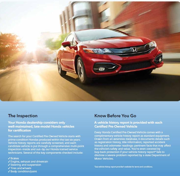 Honda Certified Pre-Owned Program | Midlands Honda - Columbia, SC