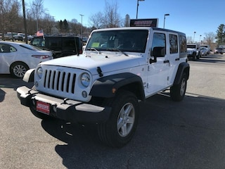 2017 Jeep Wrangler Unlimited Sport SUV for Sale Near Worcester MA