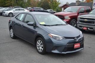 2016 Toyota Corolla LE Sedan near Worcester MA