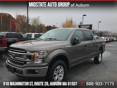 Used 2018 Ford F-150 XLT Truck SuperCrew Cab 1FTEW1EG9JFD54890 M184890 in Auburn MA