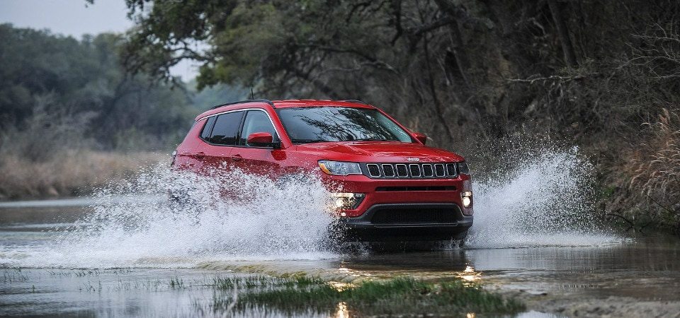 jeep compass 4x4 system