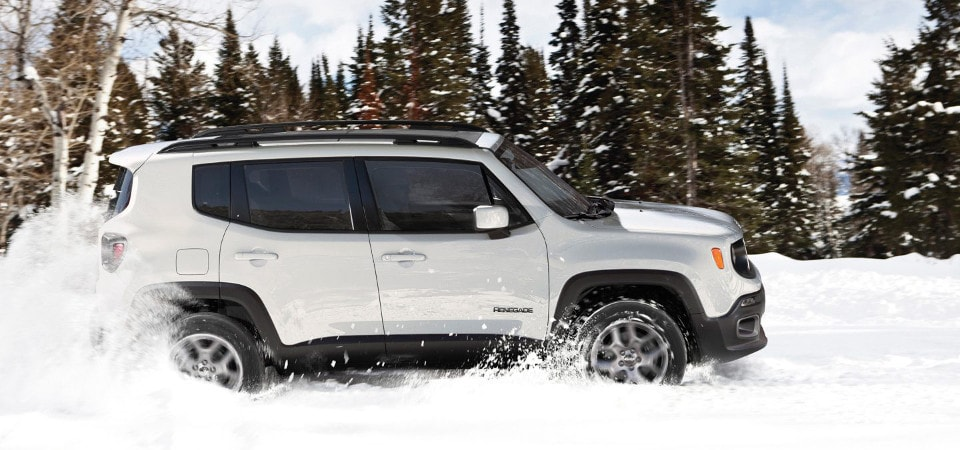 jeep renegade 4x4 system