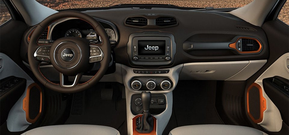 2017 Jeep Renegade Interior Barre, VT