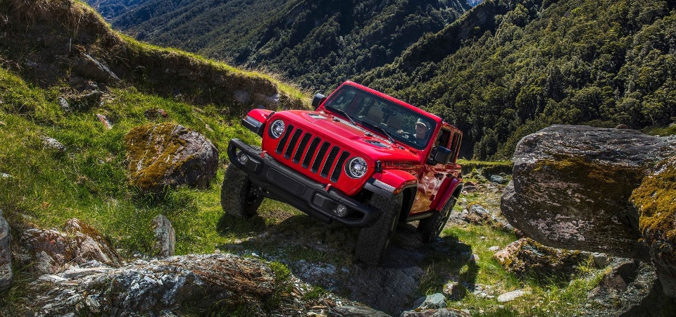 jeep wrangler unlimited 4x4 system