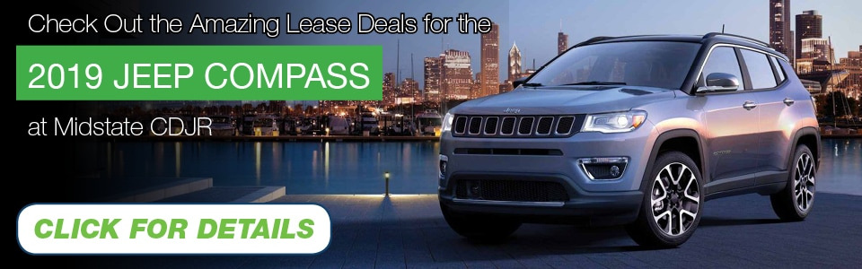 2019 Jeep Compass Lease Deal banner