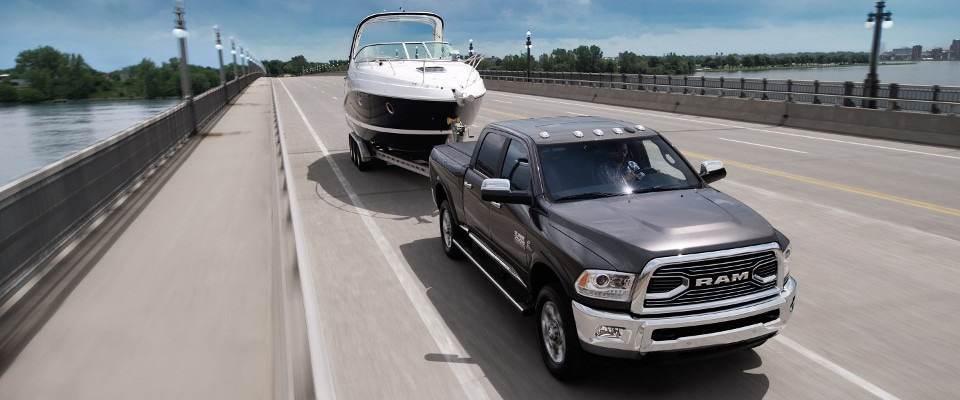 2018 ram 2500 towing capacity